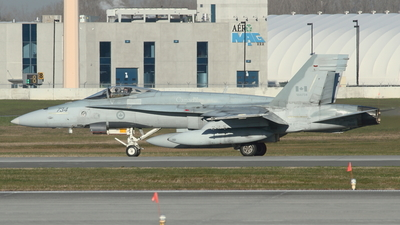 188734 - McDonnell Douglas CF-188 Hornet - Canada - Royal Air Force