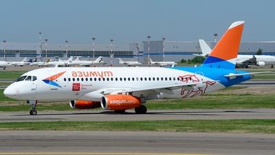 RA-89080 - Sukhoi Superjet 100-95LR - Azimuth Airlines