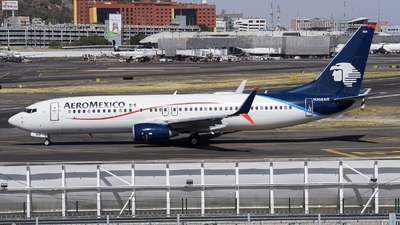 A picture of N368AR - Boeing 73786J - Aeromexico - © Mauri_0307