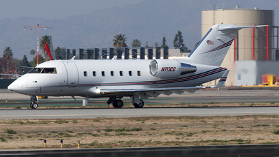 N111CC - Bombardier CL-600-2B16 Challenger 601 - Private