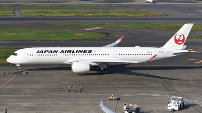 JA12XJ - Airbus A350-941 - Japan Airlines (JAL)