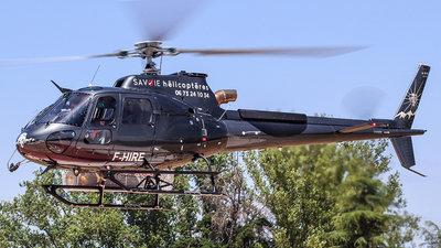F-HIRE - Airbus Helicopters H125 - Savoie Hélicoptères