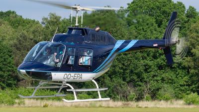 OO-EPA - Bell 206B JetRanger III - Private