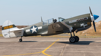 F-AZKU - Curtiss P-40N Kittyhawk - Private