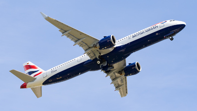 D-AVZW - Airbus A321-251NX - British Airways