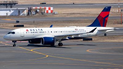 A picture of N110DU - Airbus A220100 - Delta Air Lines - © OCFLT_OMGcat