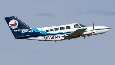A picture of N818AN - Cessna 402C - Cape Air - © Bora Polater