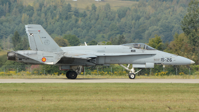 C.15-39 - McDonnell Douglas EF-18A+ Hornet - Spain - Air Force