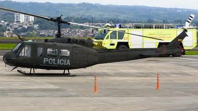 PNC-0742 - Bell UH-1H Huey II - Colombia - Police