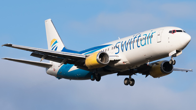 N538CC - Boeing 737-48E - Swift Air