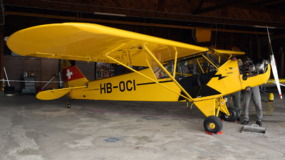 HB-OCI - Piper L-4H Cub - Private