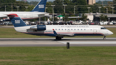 N249PS - Bombardier CRJ-200ER - US Airways Express (PSA Airlines)
