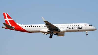 OY-GDA - Embraer 190-200LR - Great Dane Airlines