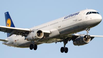 D-AISU - Airbus A321-231 - Lufthansa