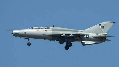 93-653 - Chengdu FT-7P - Pakistan - Air Force