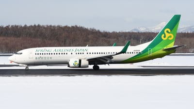 A picture of JA05GR - Boeing 7378AL - Spring Airlines Japan - © HIroki Manabe