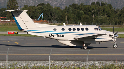 LN-BAA - Beechcraft B200 Super King Air - Bergen Air Transport
