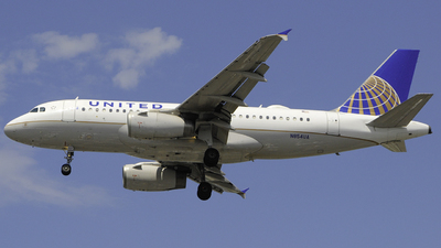 N854UA - Airbus A319-131 - United Airlines