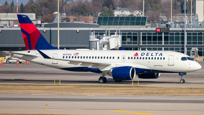 N137DU - Airbus A220-171 - Delta Air Lines