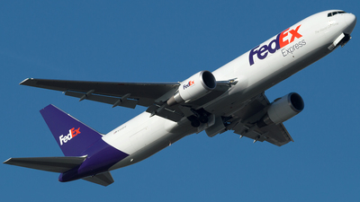 A picture of N159FE - Boeing 7673S2F(ER) - FedEx - © Westley Bencon