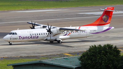 B-22821 - ATR 72-212A(600) - TransAsia Airways