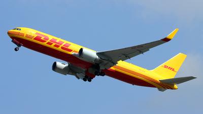 A9C-DHW - Boeing 767-323(ER)(BCF) - DHL International Aviation