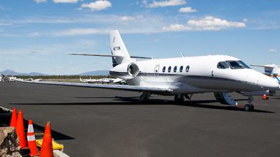 N77UW - Cessna Citation Latitude - Private