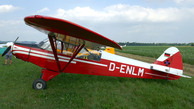 D-ENLM - Piper L-18C Super Cub - Private