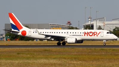 F-HBLB - Embraer 190-100LR - HOP! for Air France