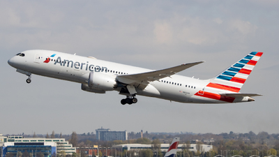 A picture of N802AN - Boeing 7878 Dreamliner - American Airlines - © Ethan Sewell