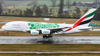 A picture of A6EEZ - Airbus A380861 - Emirates - © Jack1