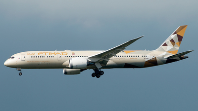 A picture of A6BNB - Boeing 7879 Dreamliner - Etihad Airways - © Hon Kit