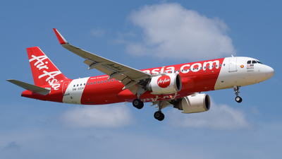 A picture of 9MAGH - Airbus A320251N - AirAsia - © Alexander Listopad