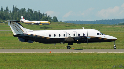 A picture of CFNSV - Beech 1900D - North Caribou Flying Service - © Peter Kesternich