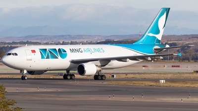TC-MCG - Airbus A300B4-622R(F) - MNG Airlines