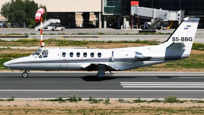 S5-BBG - Cessna 550 Citation II - Private