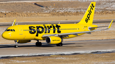 A picture of N654NK - Airbus A320232 - Spirit Airlines - © HA-KLS