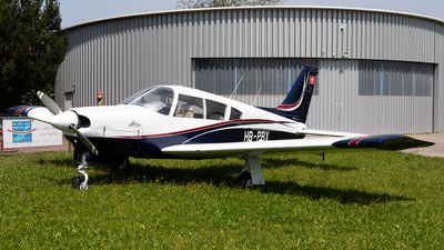 A picture of HBPBX - Piper PA28R200 - [28R7135207] - © Alexandre Fazan