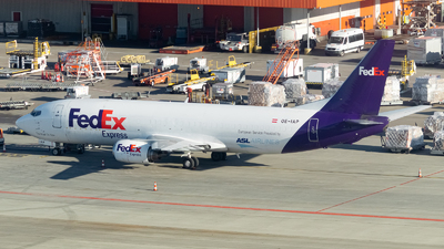 A picture of OEIAP - Boeing 7374M0(BDSF) - FedEx - © Kyan Rossignol