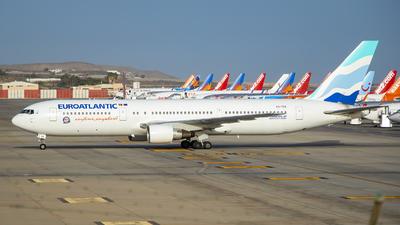 A picture of CSTSV - Boeing 76734P(ER) - EuroAtlantic Airways - © Raimundo Perez Cabrera