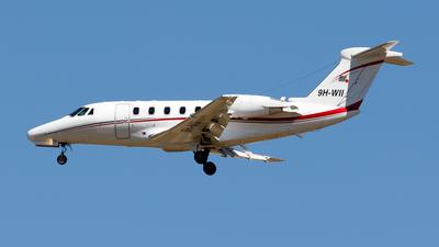 9H-WII - Cessna 650 Citation VII - Private