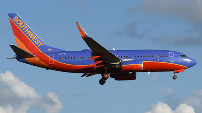 A picture of N717SA - Boeing 7377H4 - Southwest Airlines - © DJ Reed - OPShots Photo Team