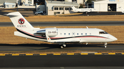 ZS-KEN - Bombardier CL-600-2B16 Challenger 604 - Private
