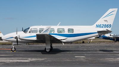 A picture of N62869 - Piper PA31350 - [317652145] - © Sandra