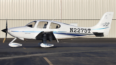 N2275T - Cirrus SR22 - Private