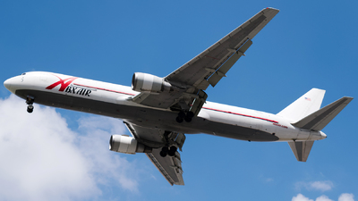N317CM - Boeing 767-338(ER)(BDSF) - ABX Air