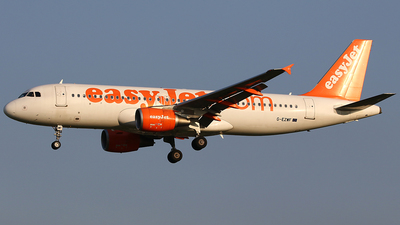 G-EZWF - Airbus A320-214 - easyJet