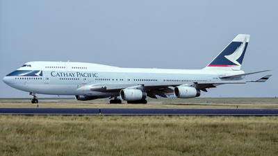 VR-HOV - Boeing 747-467 - Cathay Pacific Airways