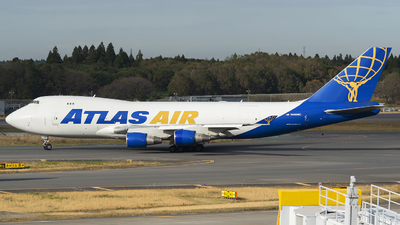 N446MC - Boeing 747-4B5ERF - Atlas Air