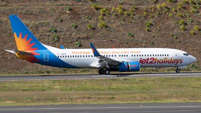 A picture of GJZHD - Boeing 737808 - Jet2 - © RAFAL KUKOWSKI